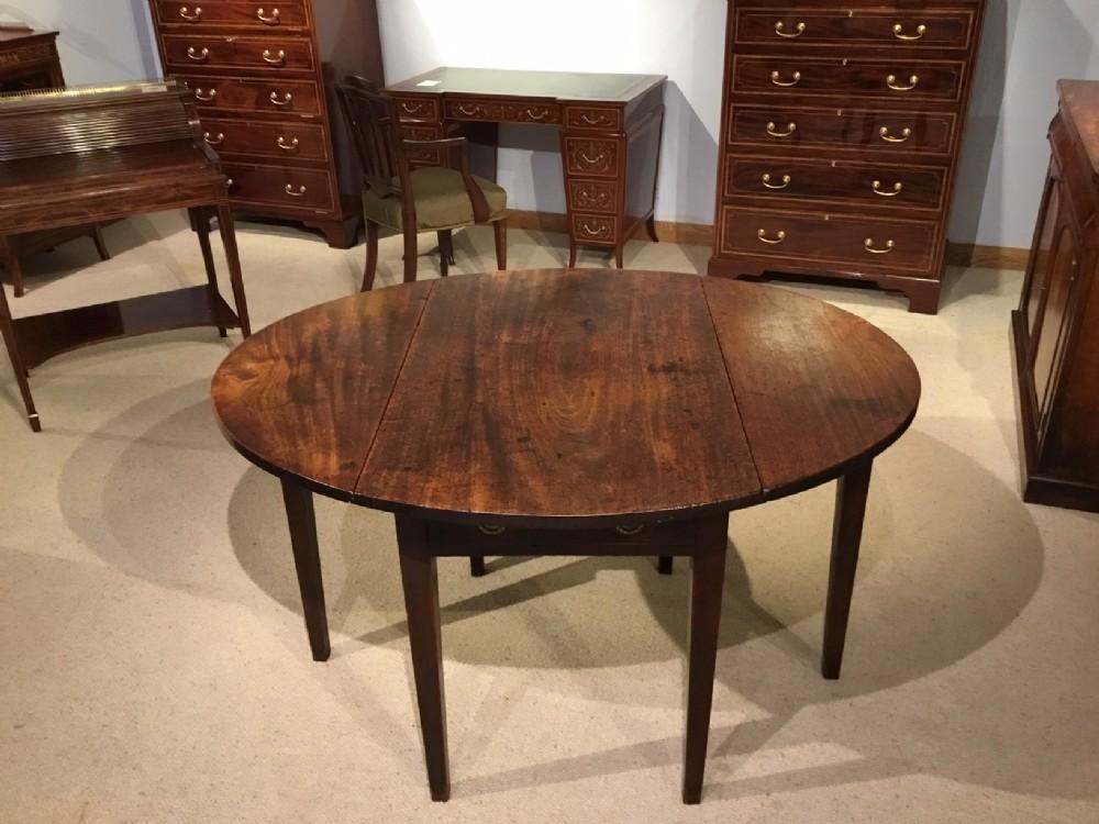 a mahogany george iii period pembroke table