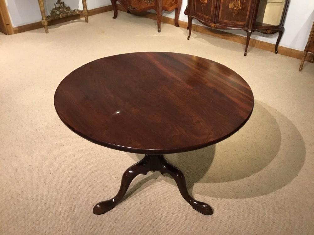 a fine mahogany george iii period circular supper table