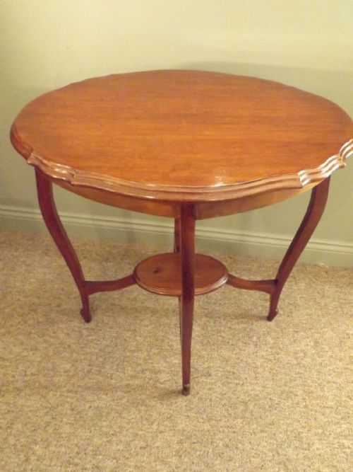 Tables Antique Edwardian Lamp Table Street Price