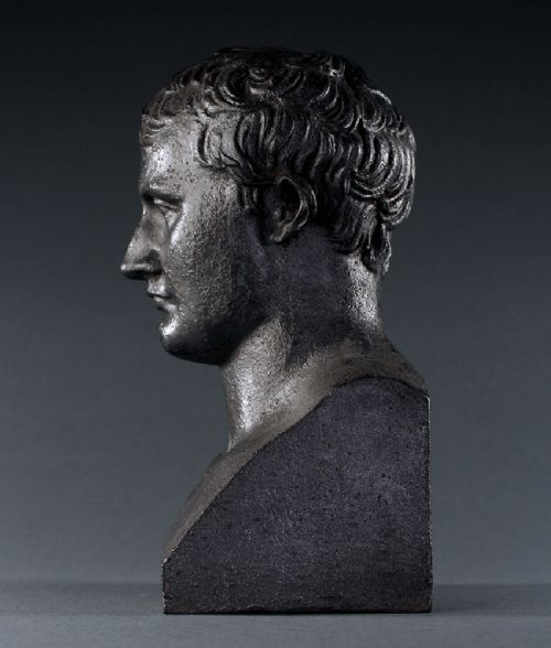 bust of napoleon after chaudet in cast iron