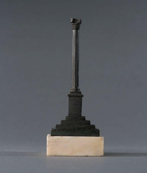small grand tour bronze phocas column