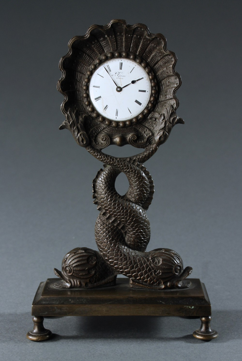 early 19th century sea serpent pocket watch holder