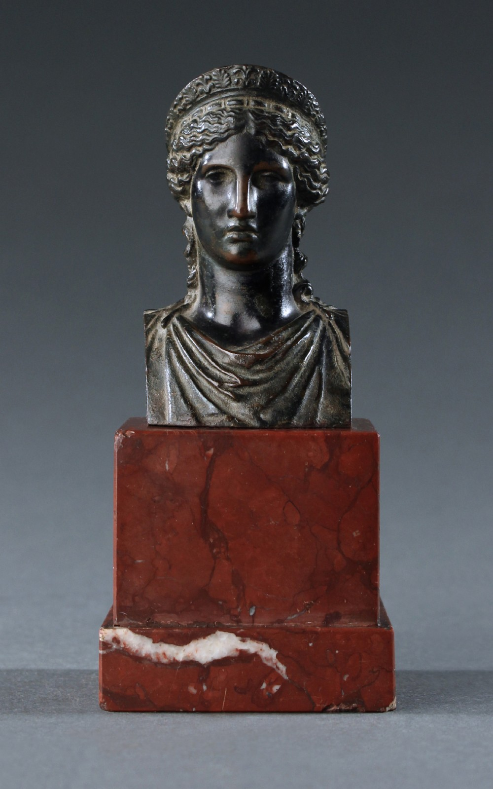 grand tour bronze of antonia minor as juno