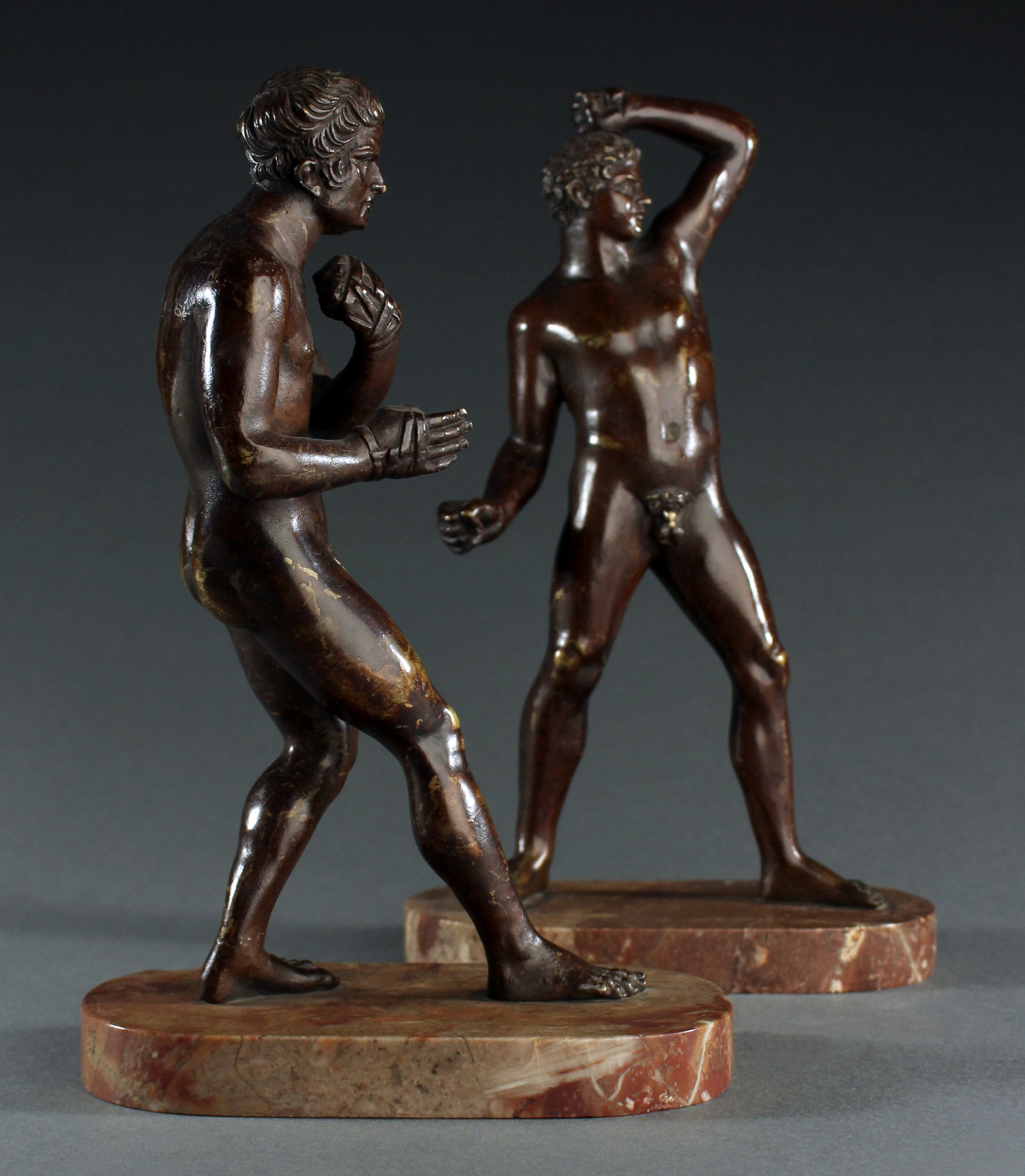 early 19th century grand tour pugilists after canova