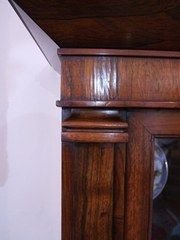 william iv rosewood bookcase - photo angle #2
