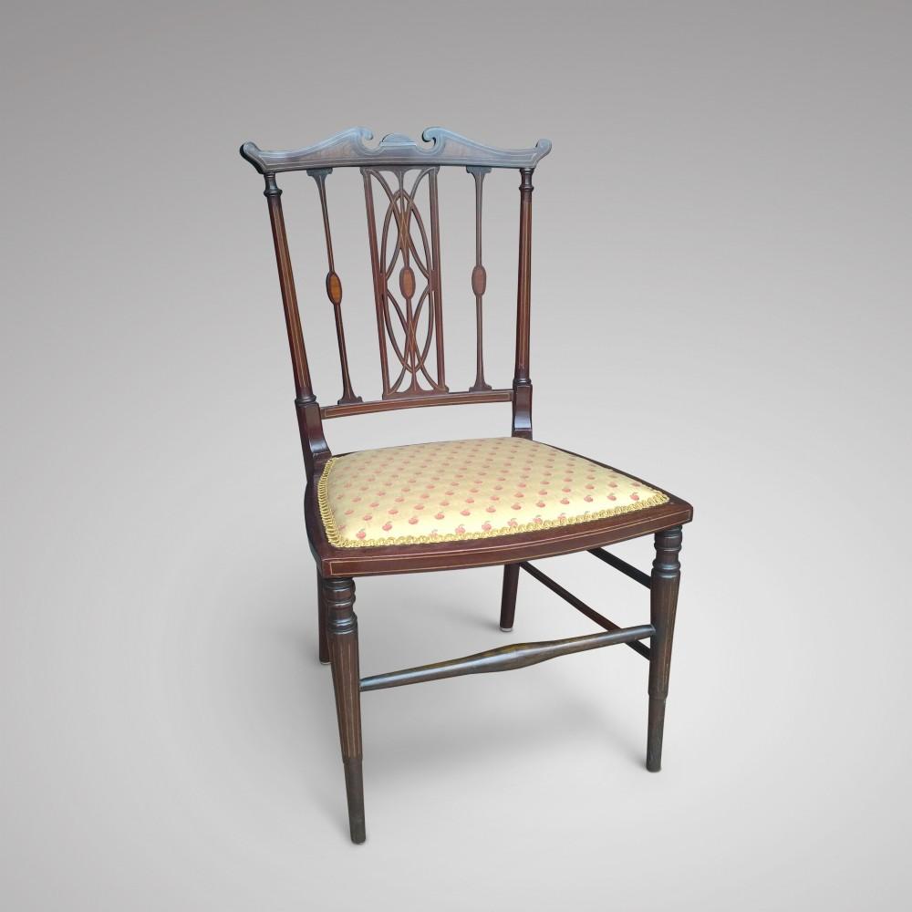 Mahogany Dressing Table Chair 345966