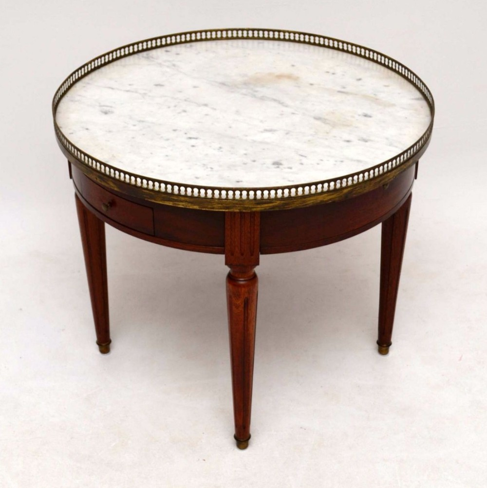 Antique French Marble Top Coffee Table 461678