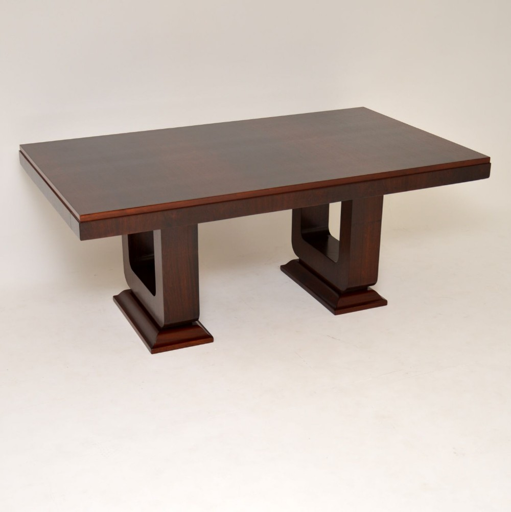 1920s french art deco rosewood dining table