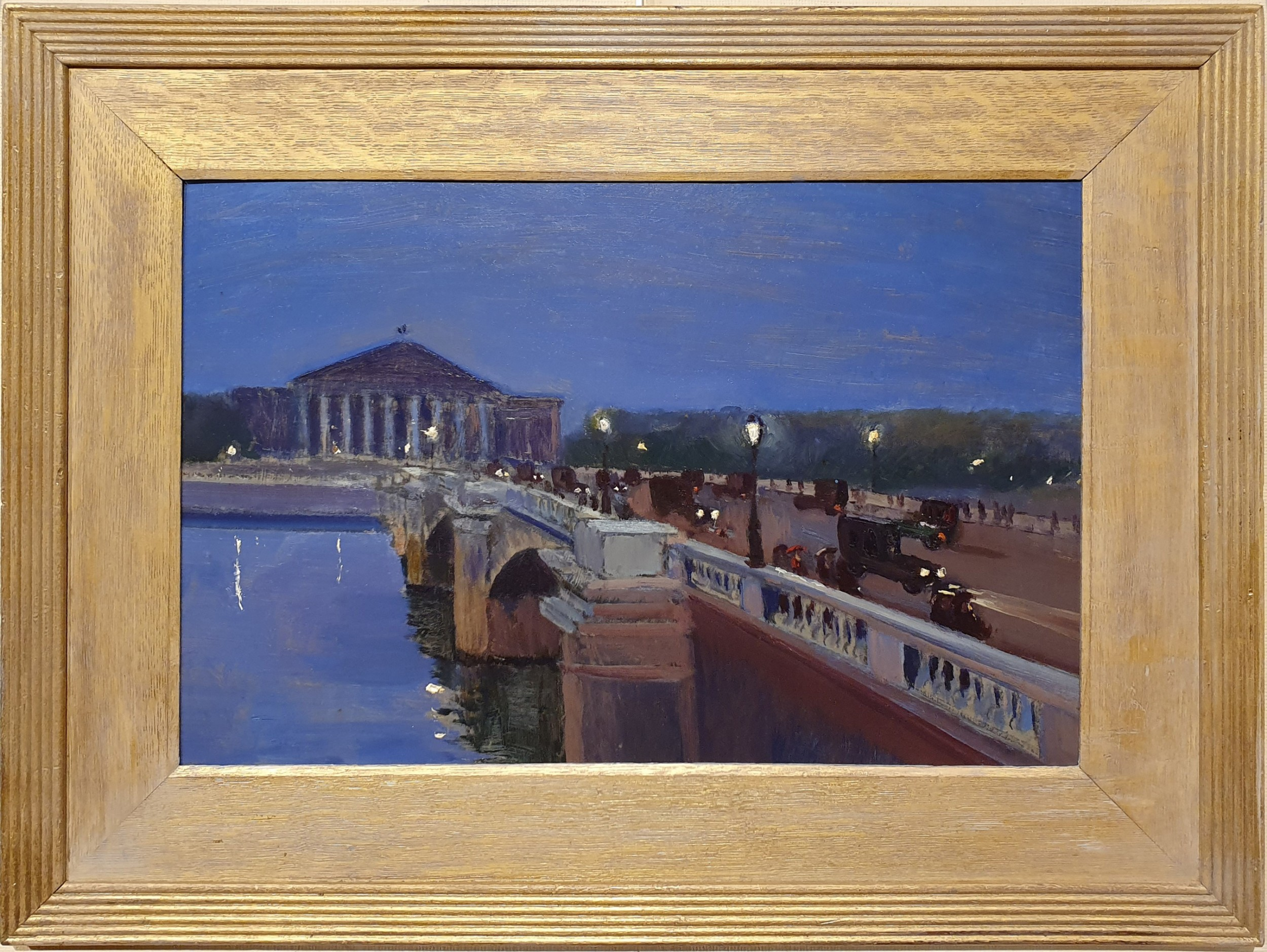 view of paris oil painting attributed to alfred henry maurer