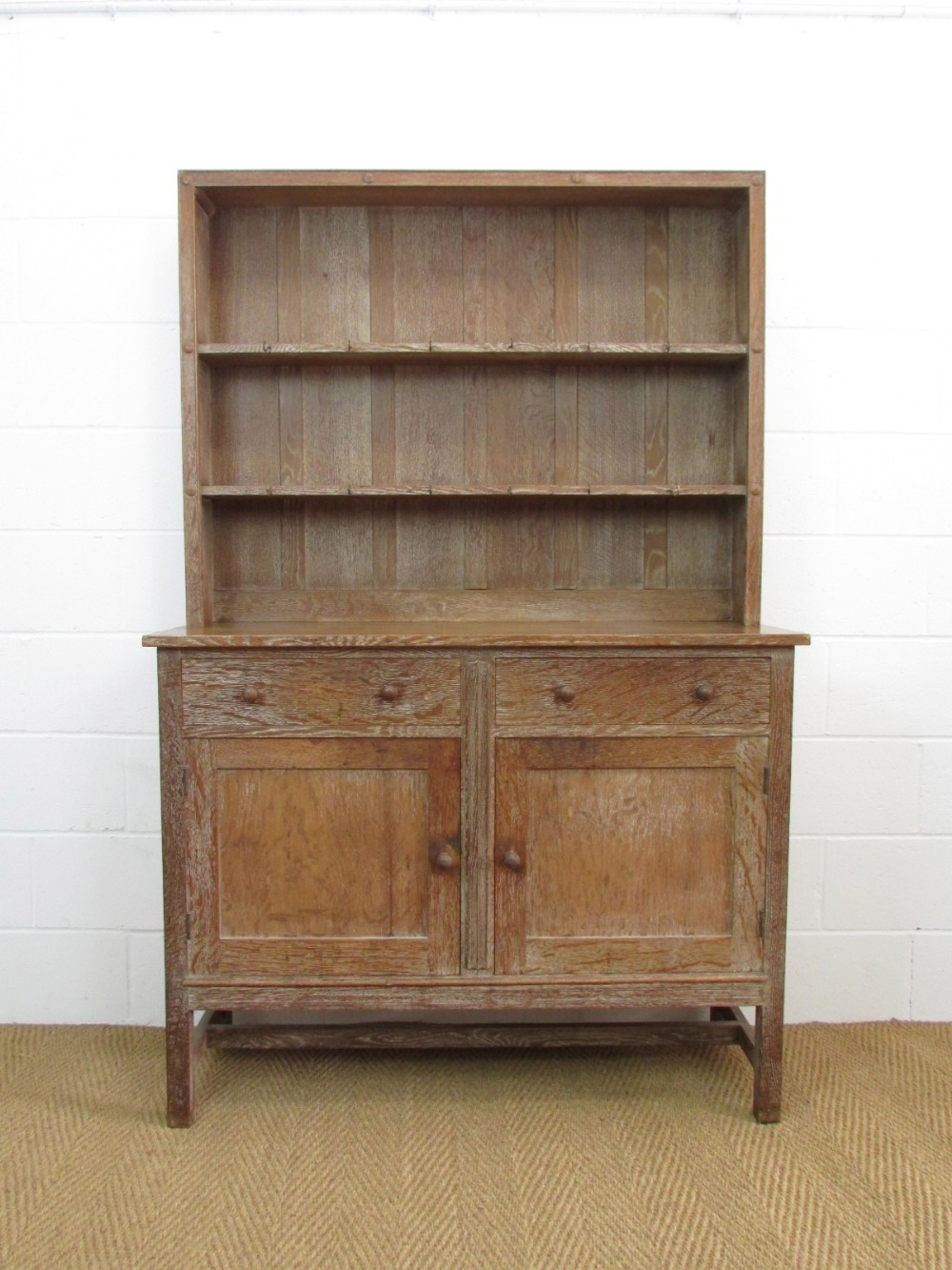 Kitchen Dresser Heals Limed Oak Cottage Kitchen Dresser 261103