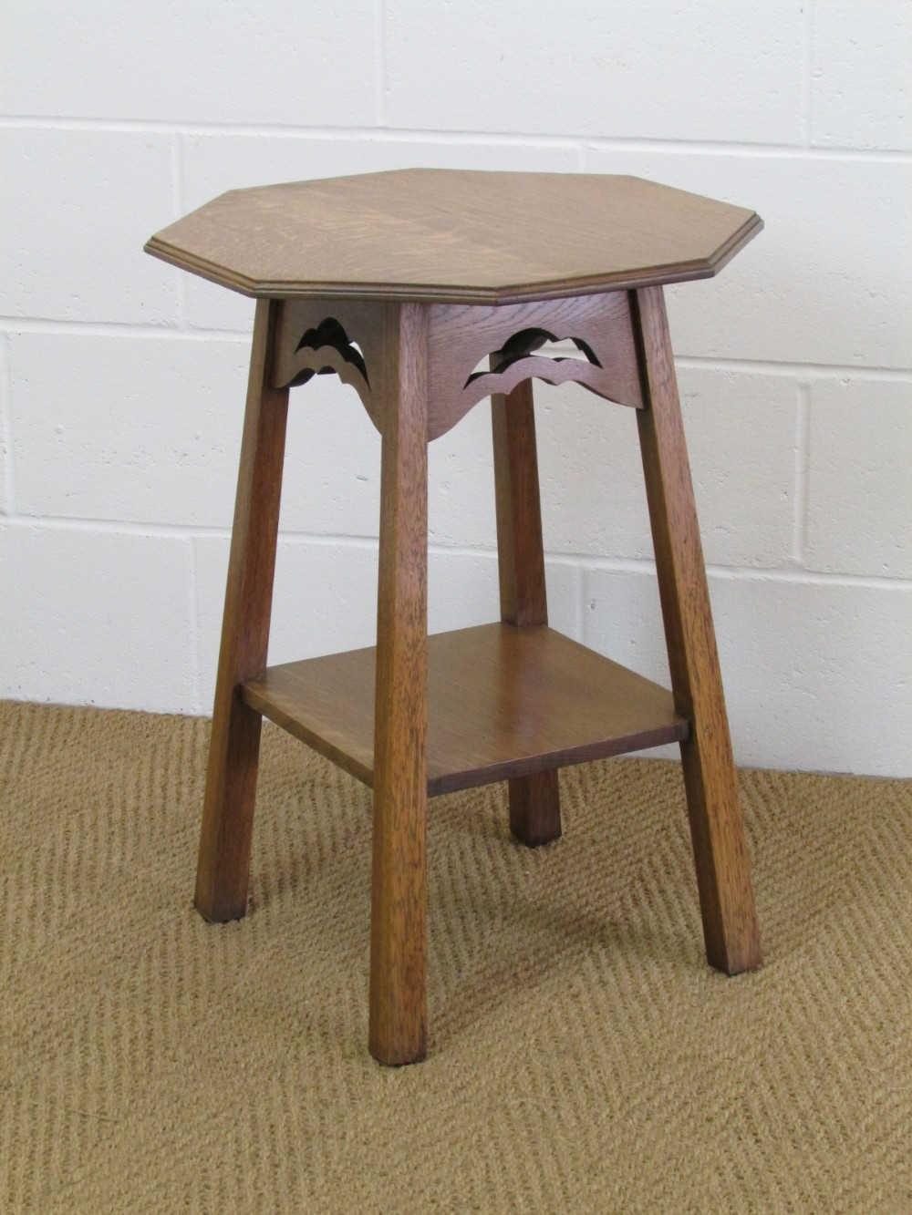 Ordinaire Arts Crafts Oak Occasional Side Table 278034 Ingantiques Co Uk