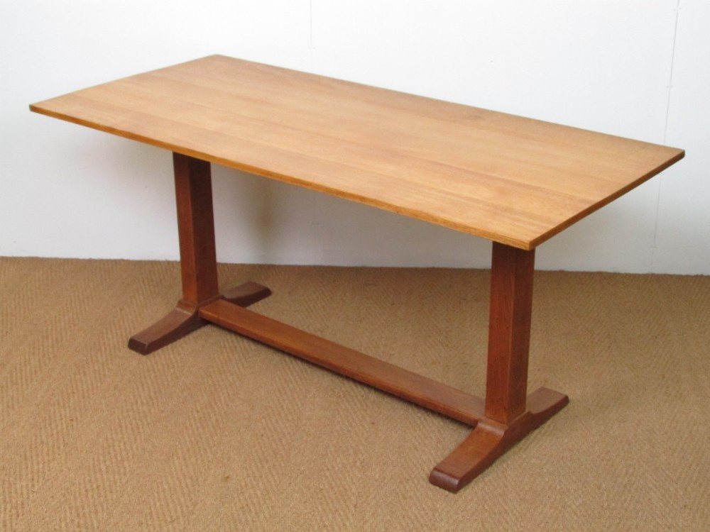 Heals Oak Refectory Dining Table 414982