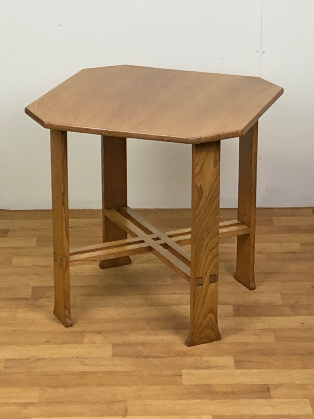 arts crafts oak side table by arthur simpson of kendal