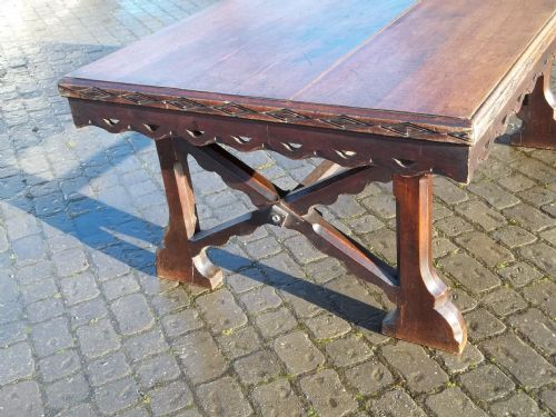 antique oak refectory kitchen farmhouse dining table