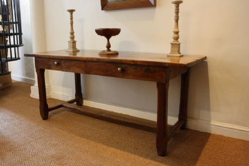 French Fruitwood Console Table