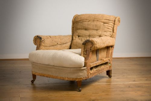 Deep Seated English Armchair