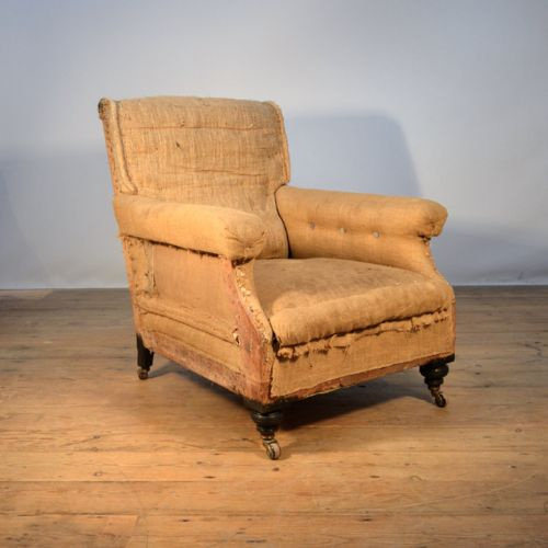 C19th French Armchair , Incl Reupholstery | 330148 ...