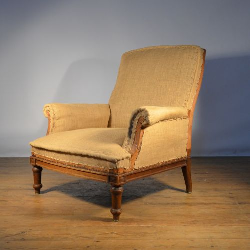 Generous French Fauteuil Incl Full Reupholstery 356319