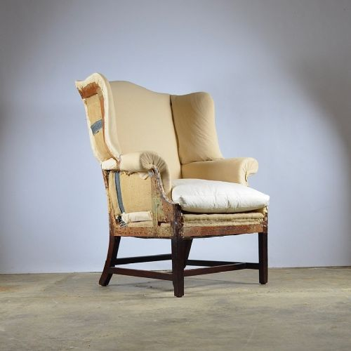 georgian wing chair