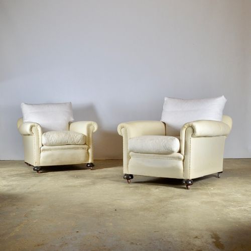 pair of 1930s armchairs