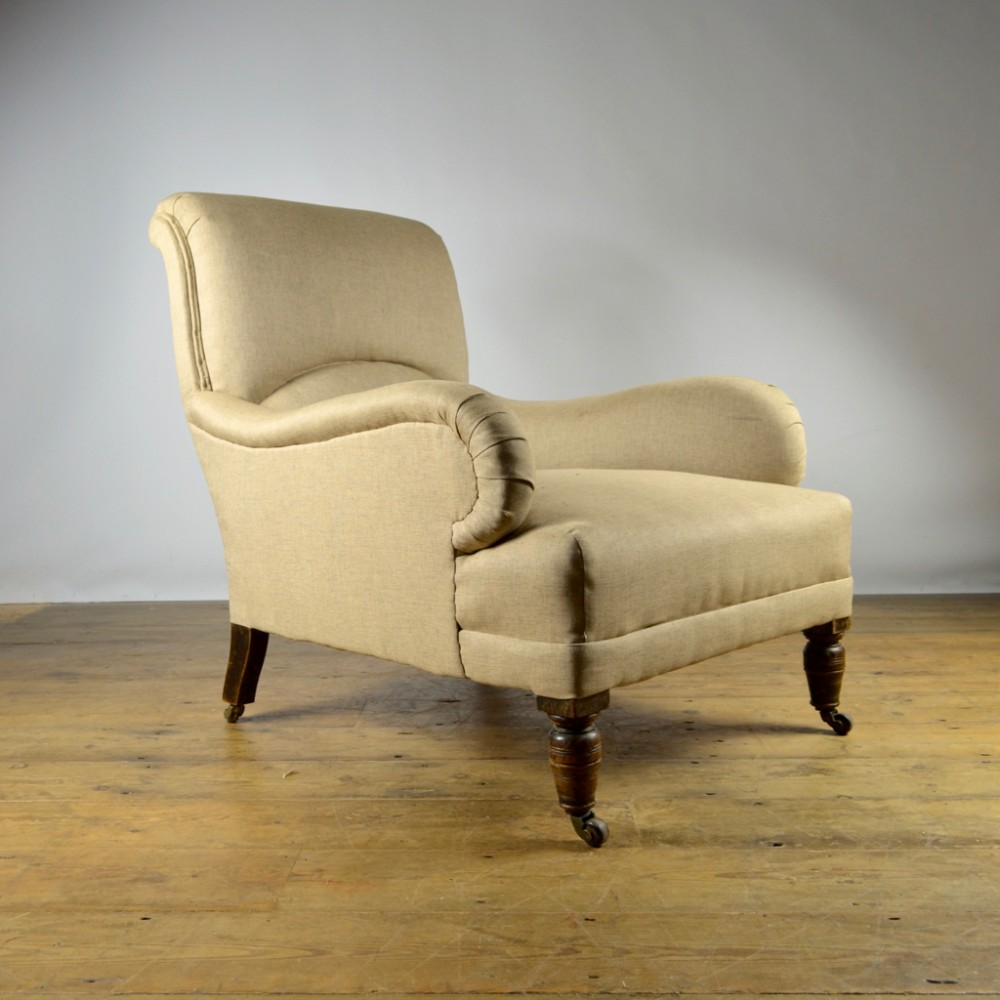 Edwardian Armchair, Reupholstery Incl. | 381924 ...