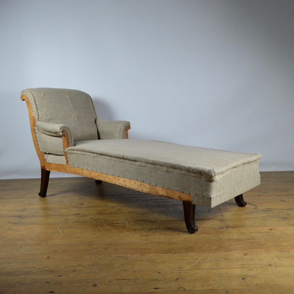 french daybed reupholstery incl