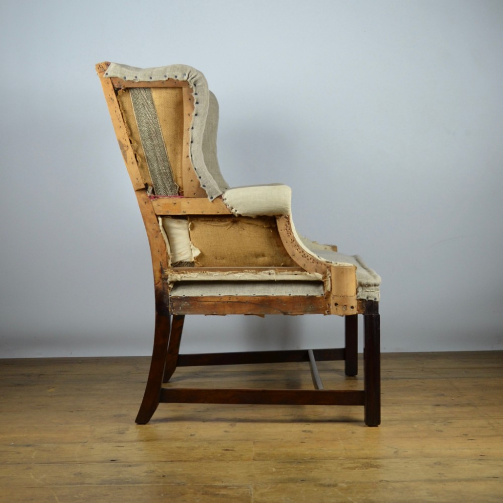 Superbe Small Wing Chair Reupholstery Included