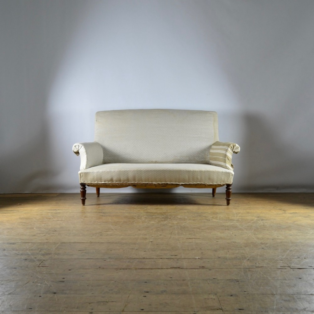 two seater french sofa