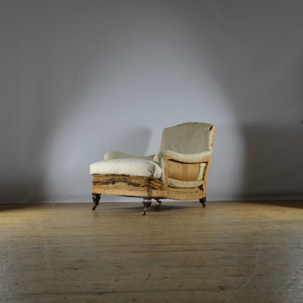 deep seated english armchair reupholstery incl