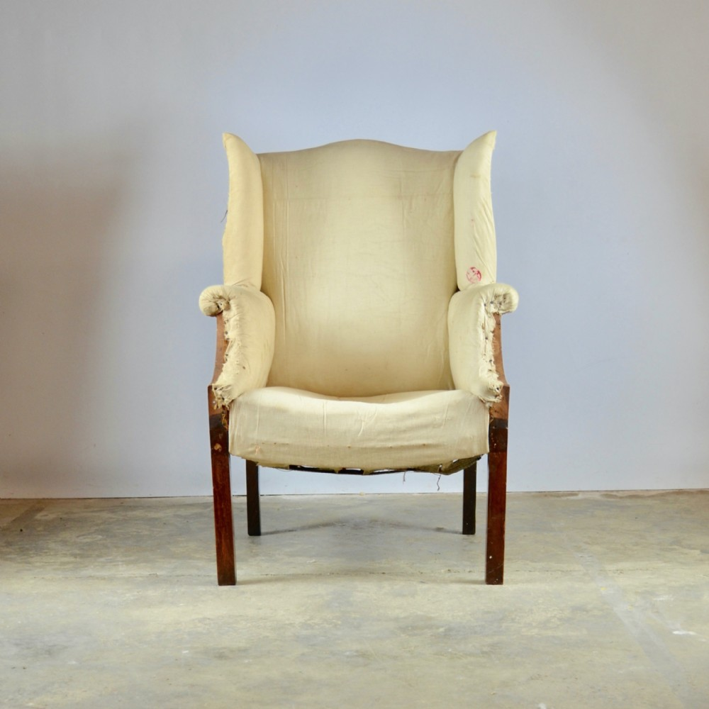 english wing chair full reupholstery inc