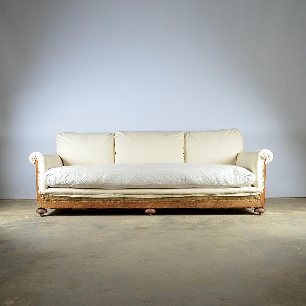 very deep sofa