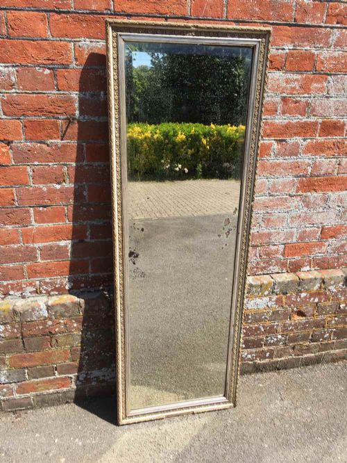 a highly decorative useful antique 19th century french carved wood and gesso original mirror
