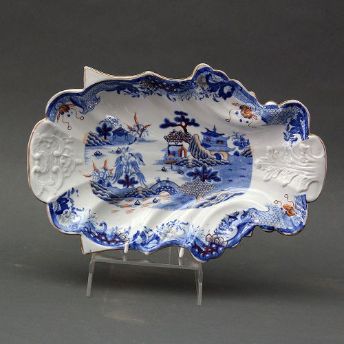 masons ironstone china dessert dish pagoda pattern