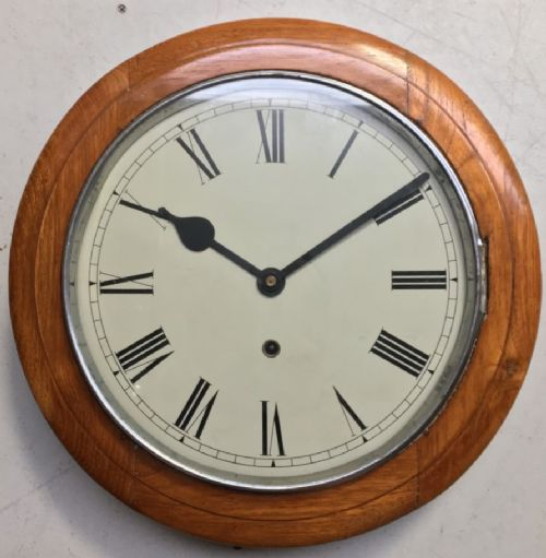 eight day 12 inch dial lovely wall clock