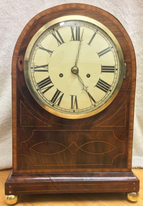 twin fusee regency bracket clock fully restored
