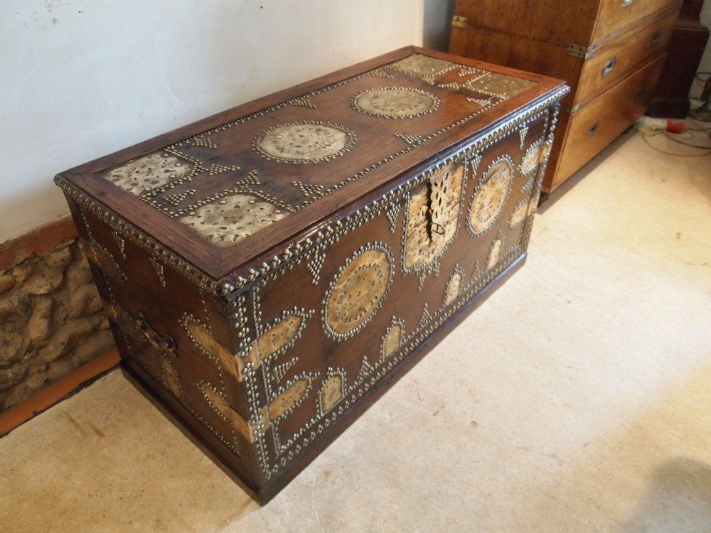 Chest Trunk Coffer Coffee Table Large Zanzibar Chest Victorian Period C1880 355490