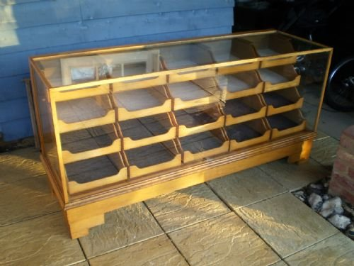 Haberdashery Cabinet Drawers Oak By Yugin And Sons London W1 C1920 ...