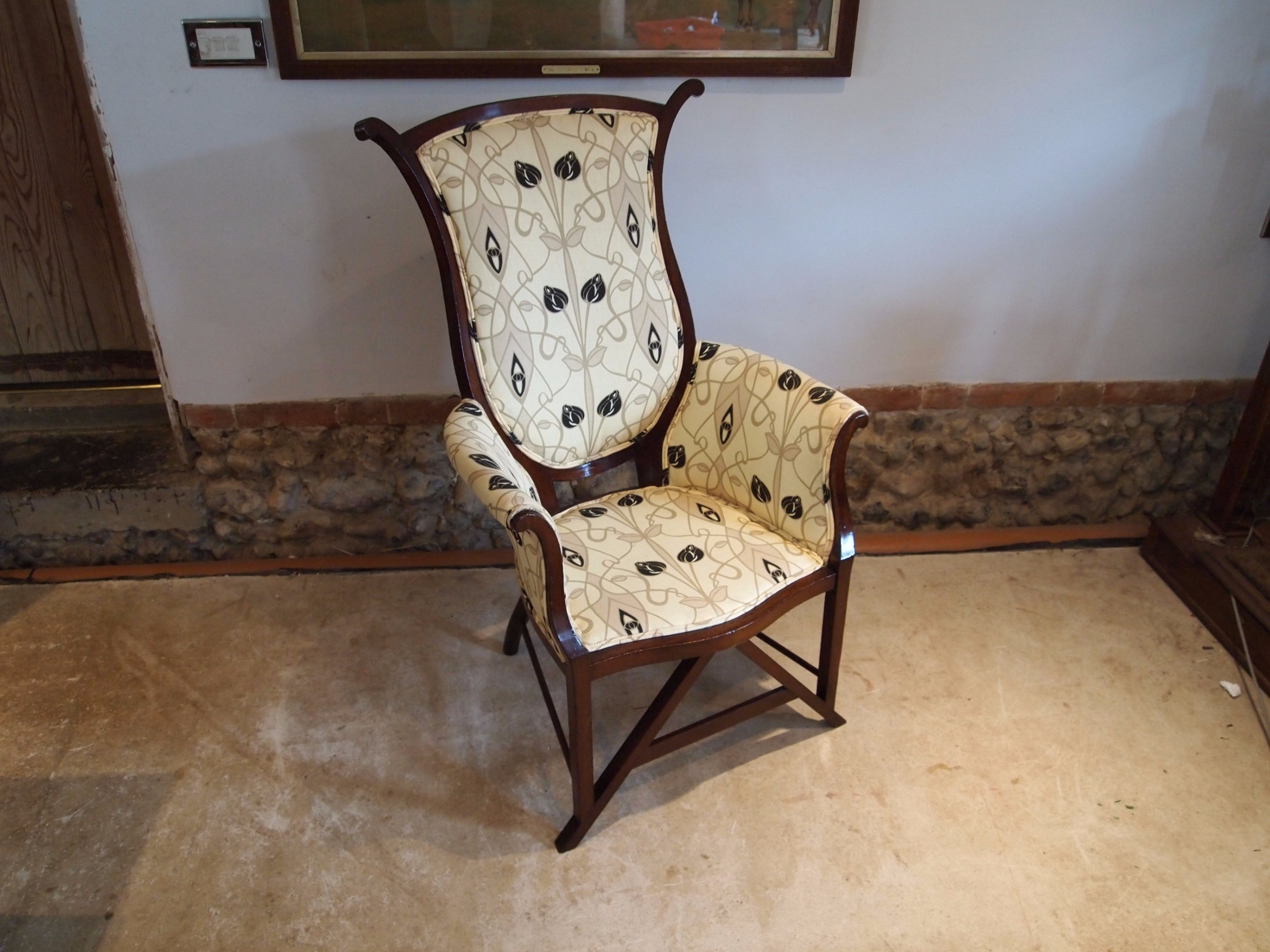 Captivating Cloverleaf Home Interiors Chair Arts And Crafts Art Nouveau Mahogany Chair  C1900 491608100 Cloverleaf Home Interiors 148 Best Interior Decor Part 19