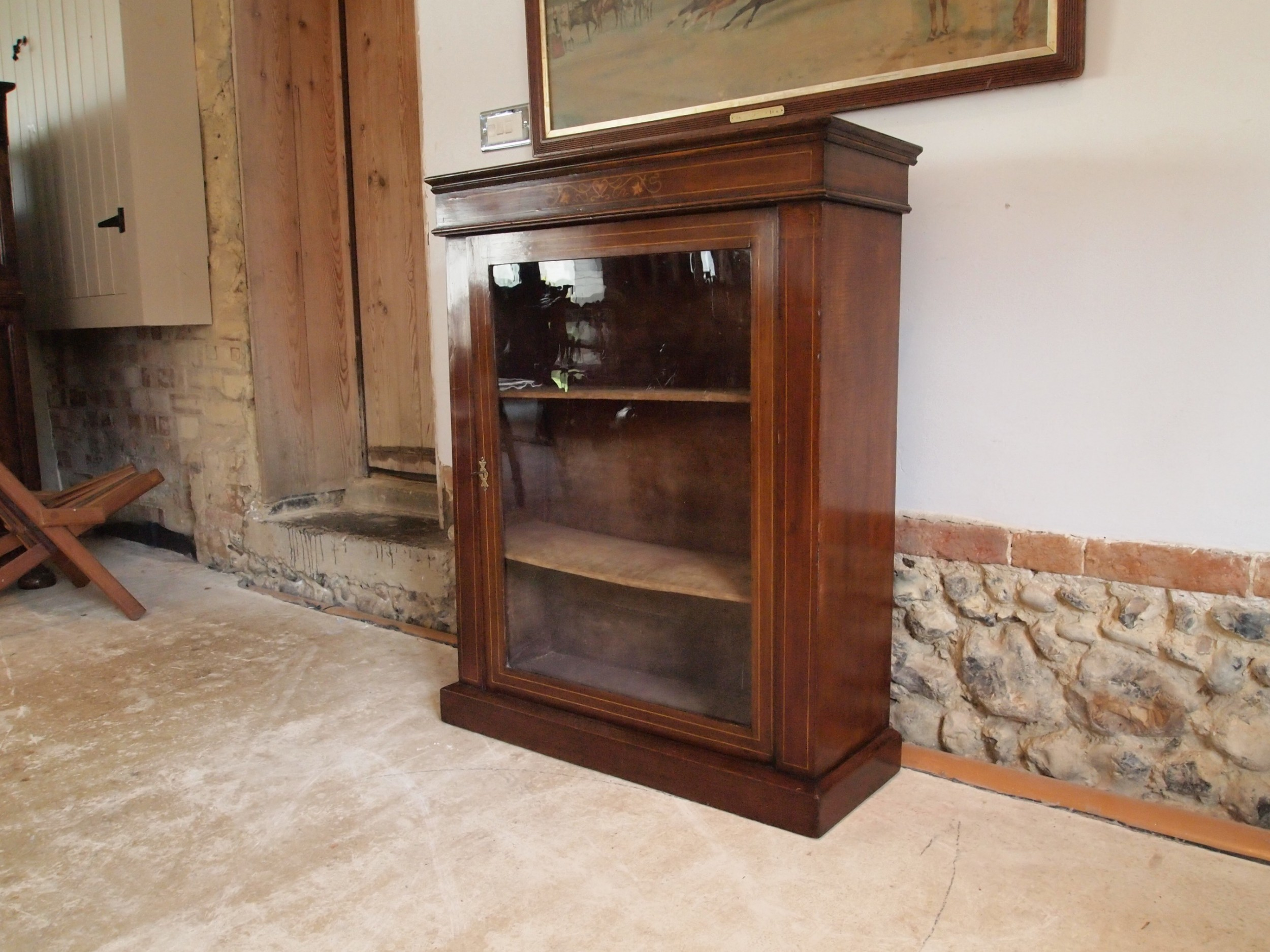 cabinet display pier cabinet victorian mahogany c1880