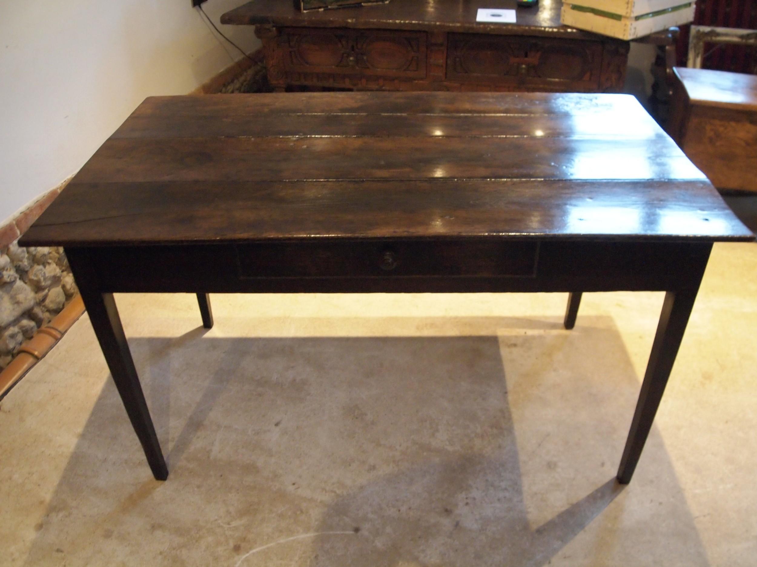 table rare oak george iii refectory farmhouse dining table c1790