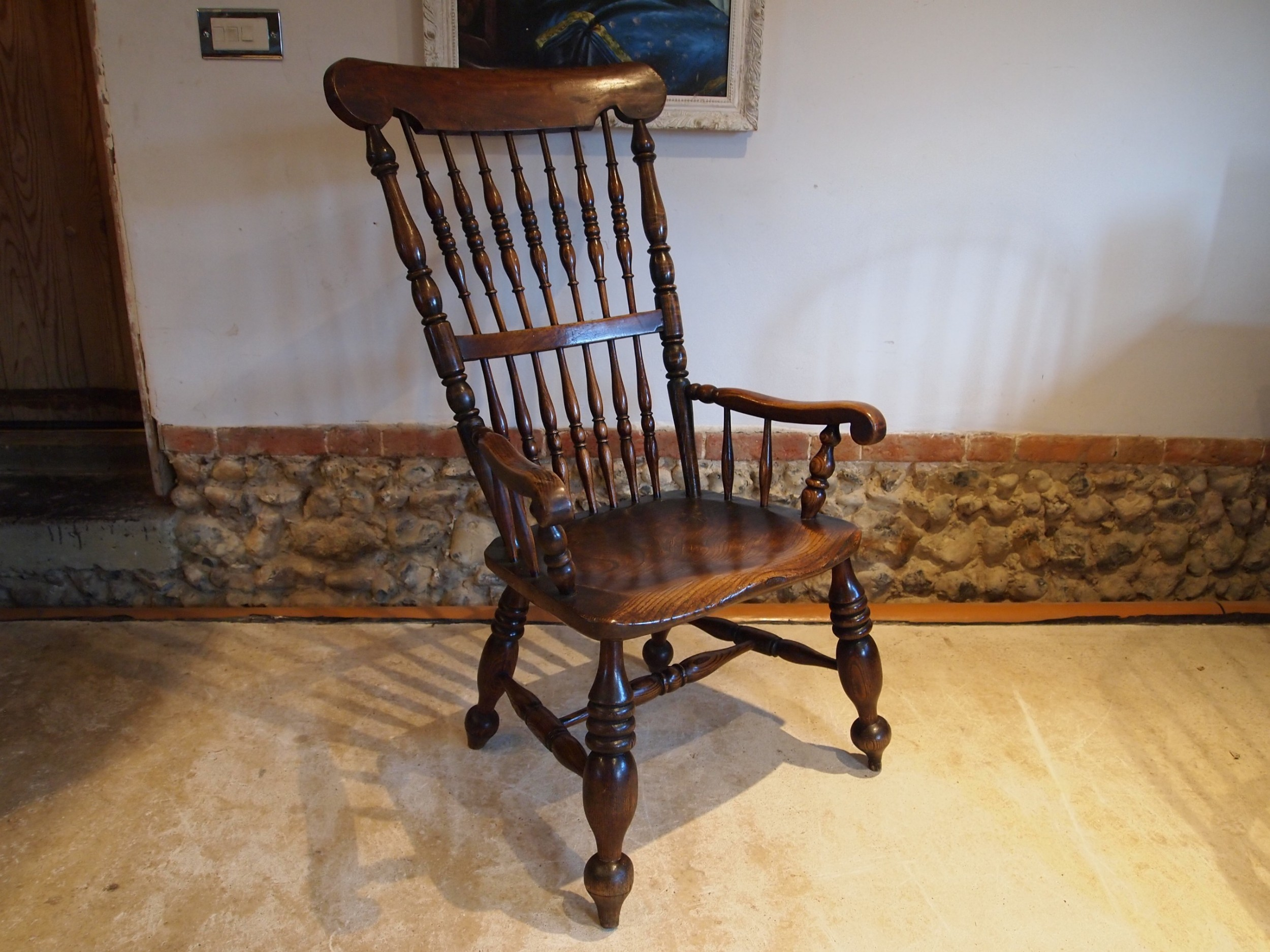 chair stunning rare john shadford windsor lincolnshire c1860