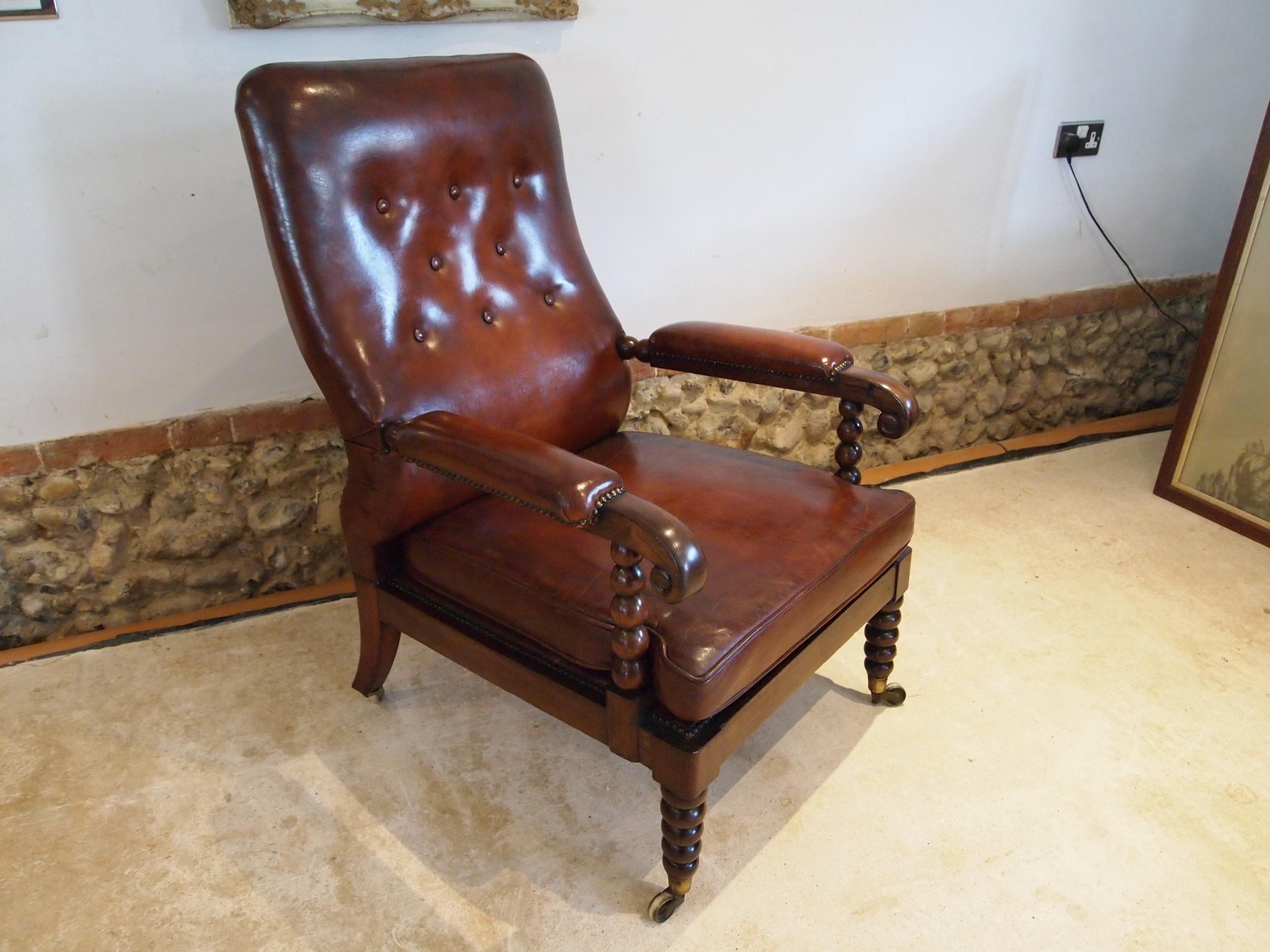 chair rare beautiful regency rosewood bergere library armchair c1820