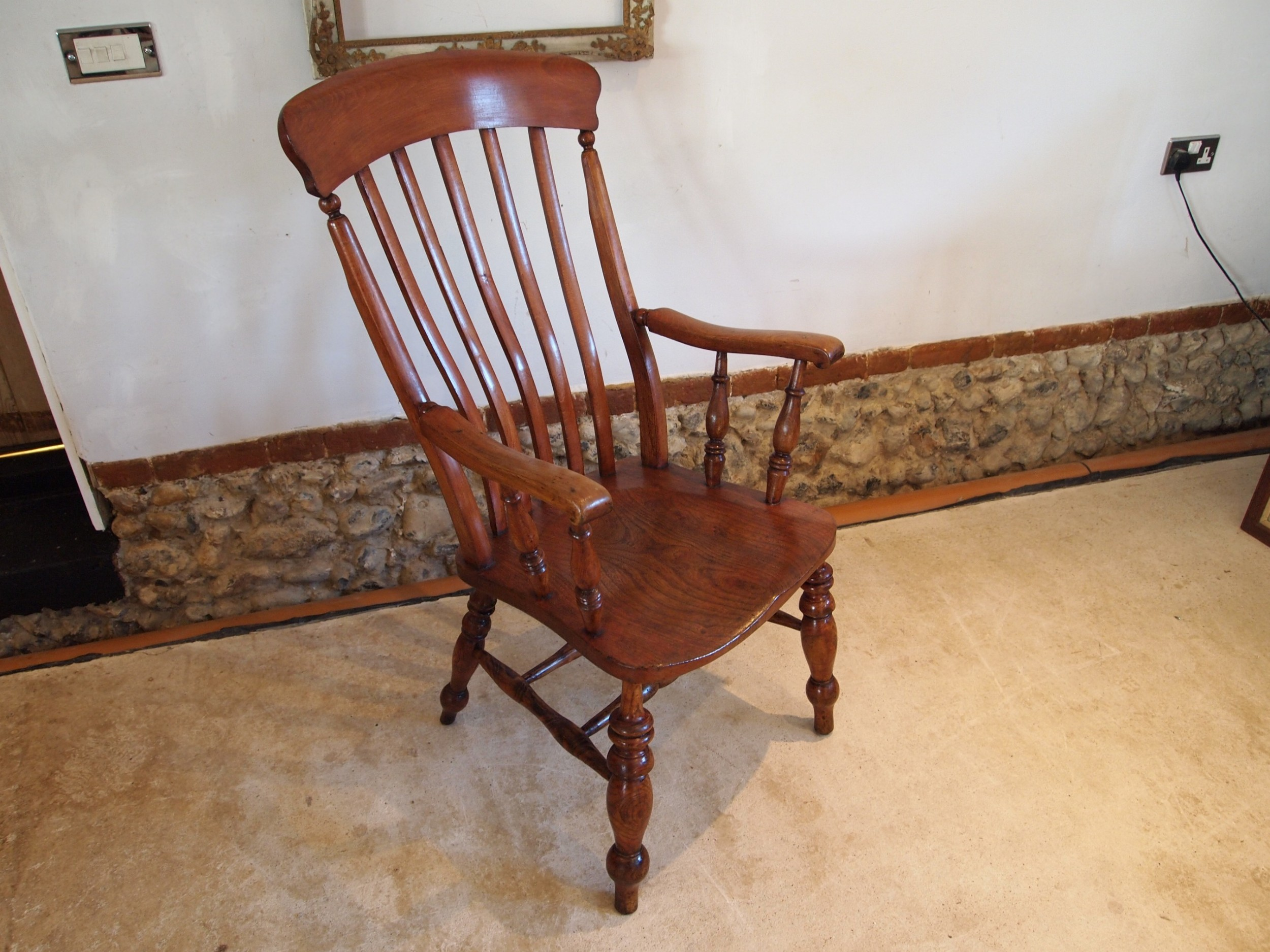 chair stunning victorian windsor grandfather chair c1870