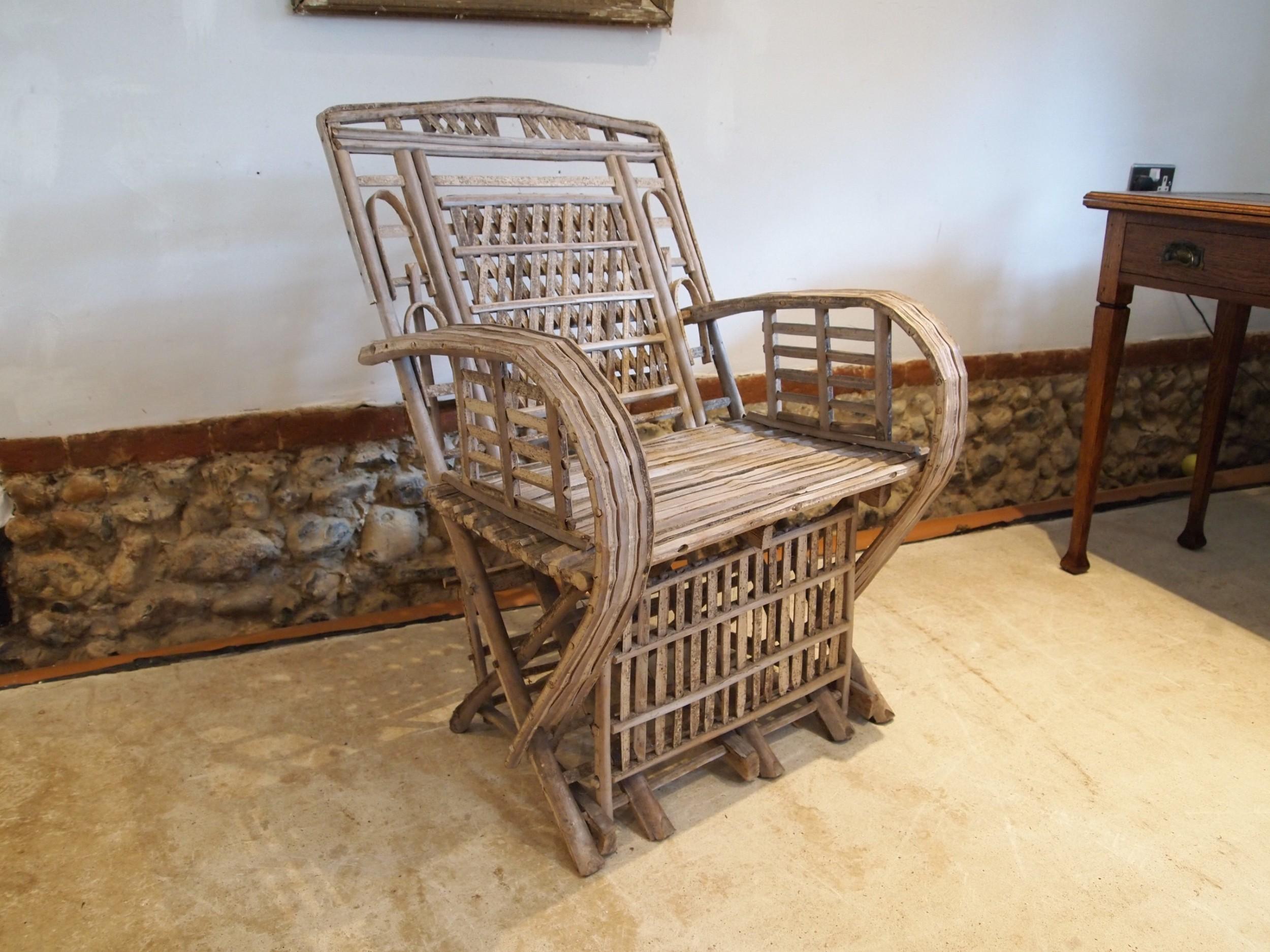 chair colonial split cane armchair c1920