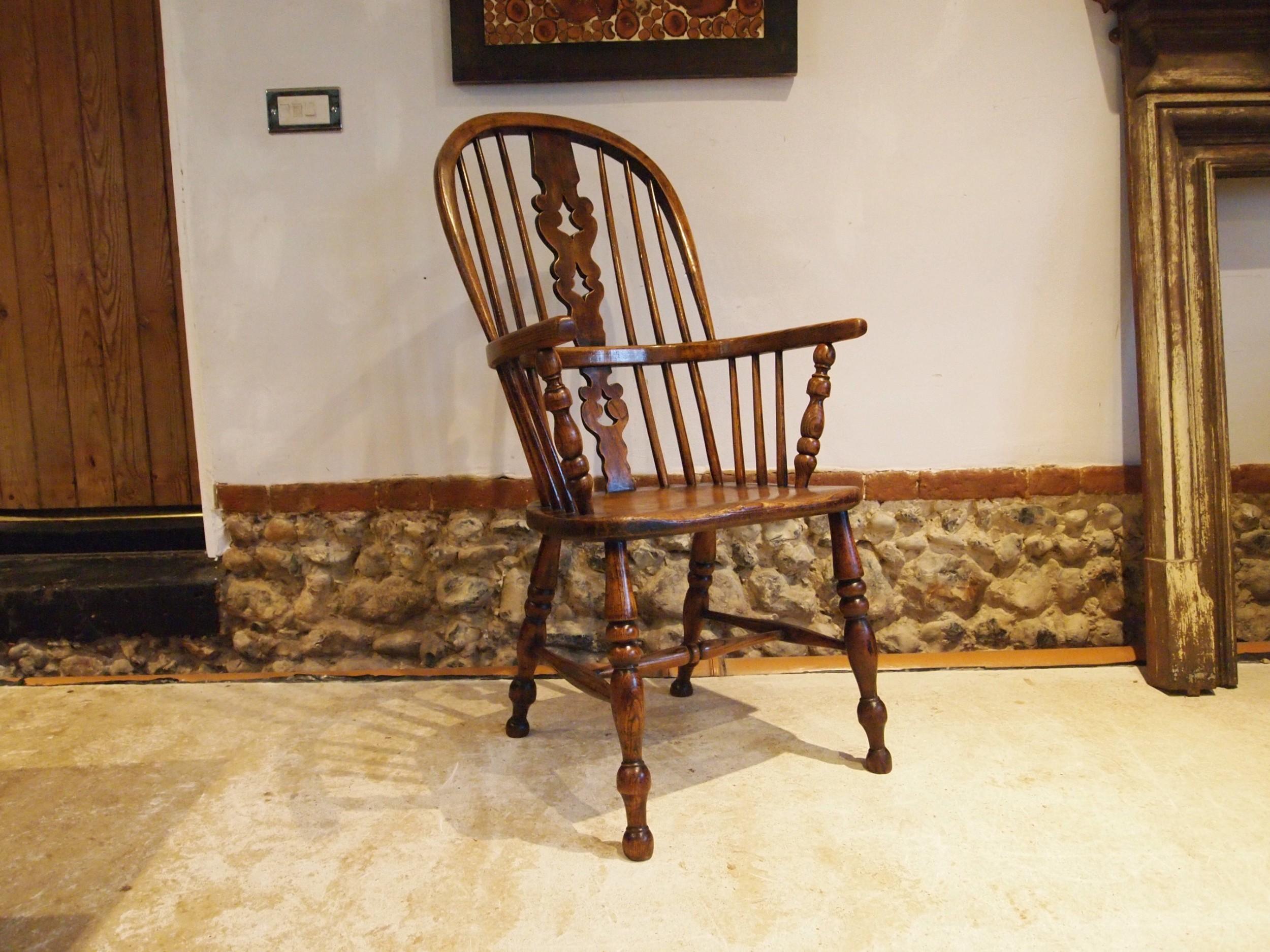 chair superb windsor yorkshire ash elm armchair c1840