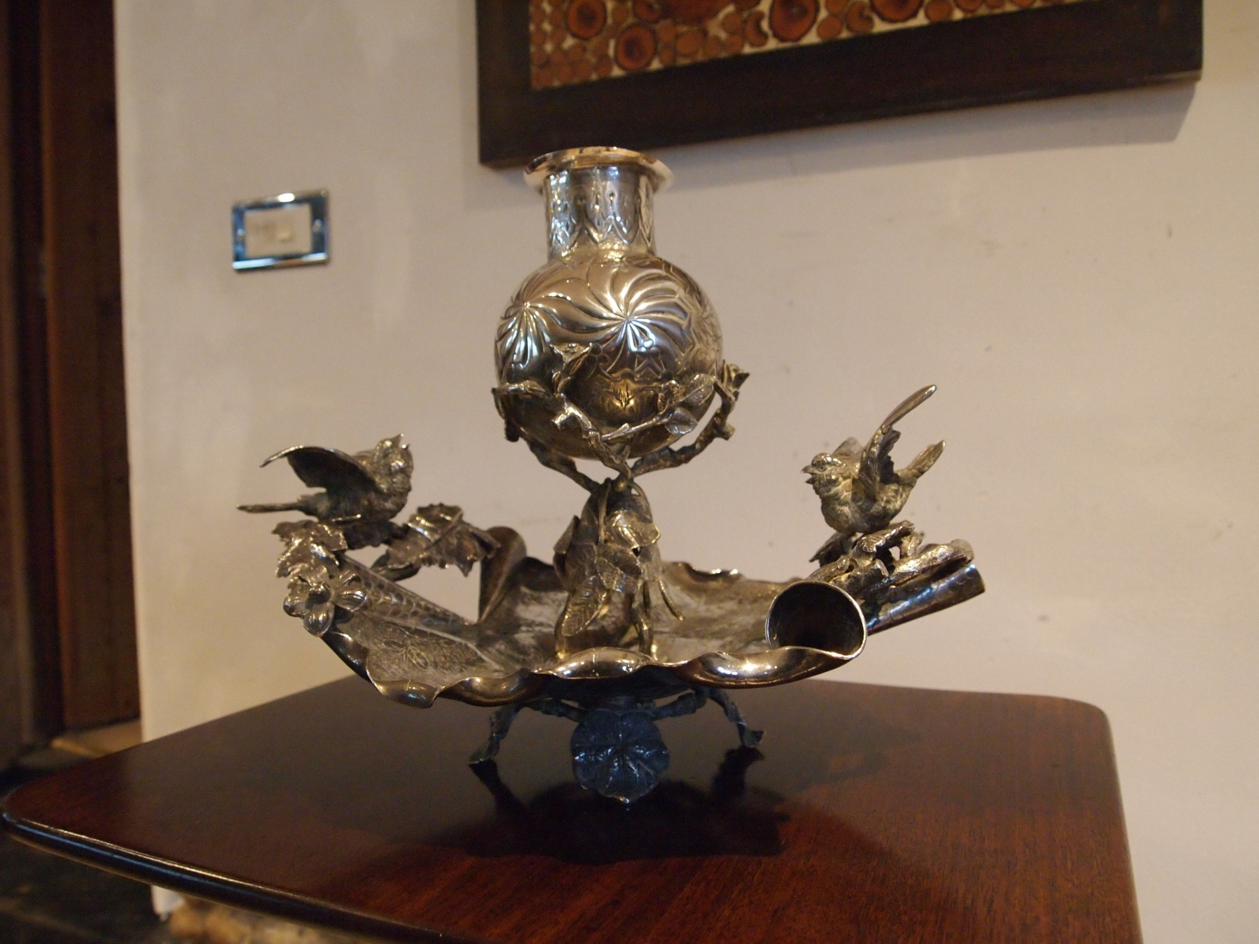table centre piece stunning silver plate victorian c1880