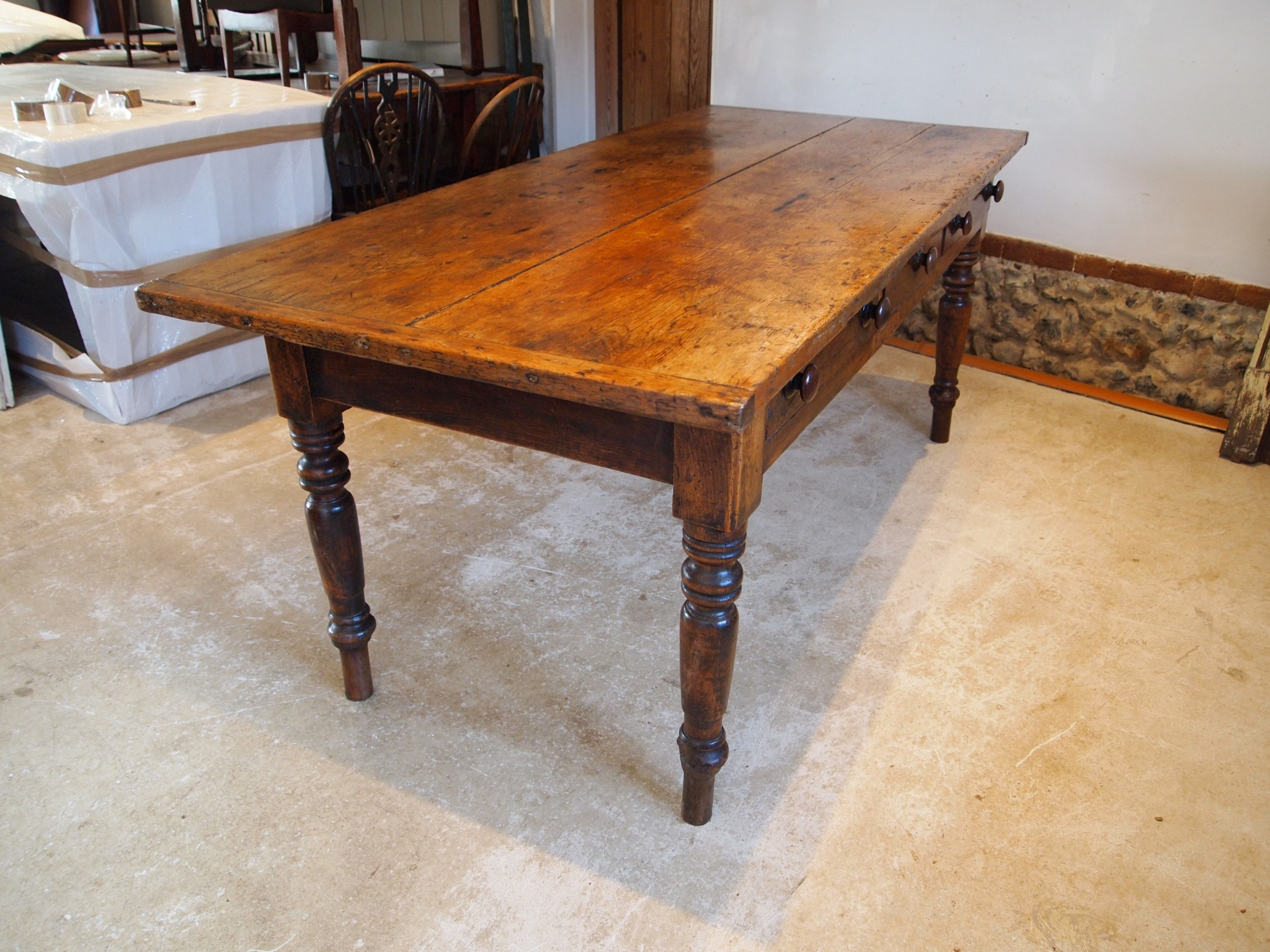 table wonderful victorian refectory farmhouse dining c1840