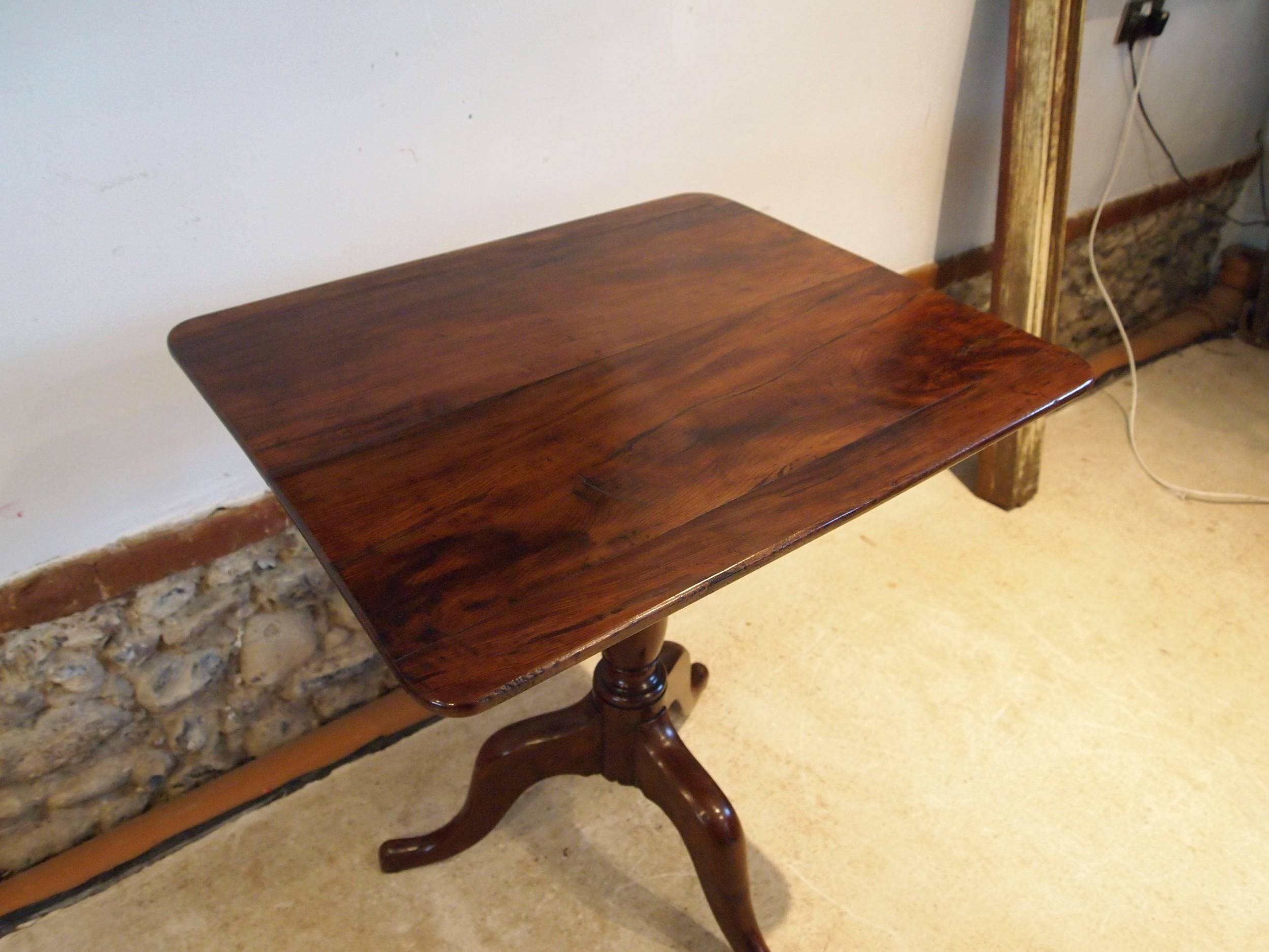 table very rare gillows george iii yew side lamp hall wine c1780