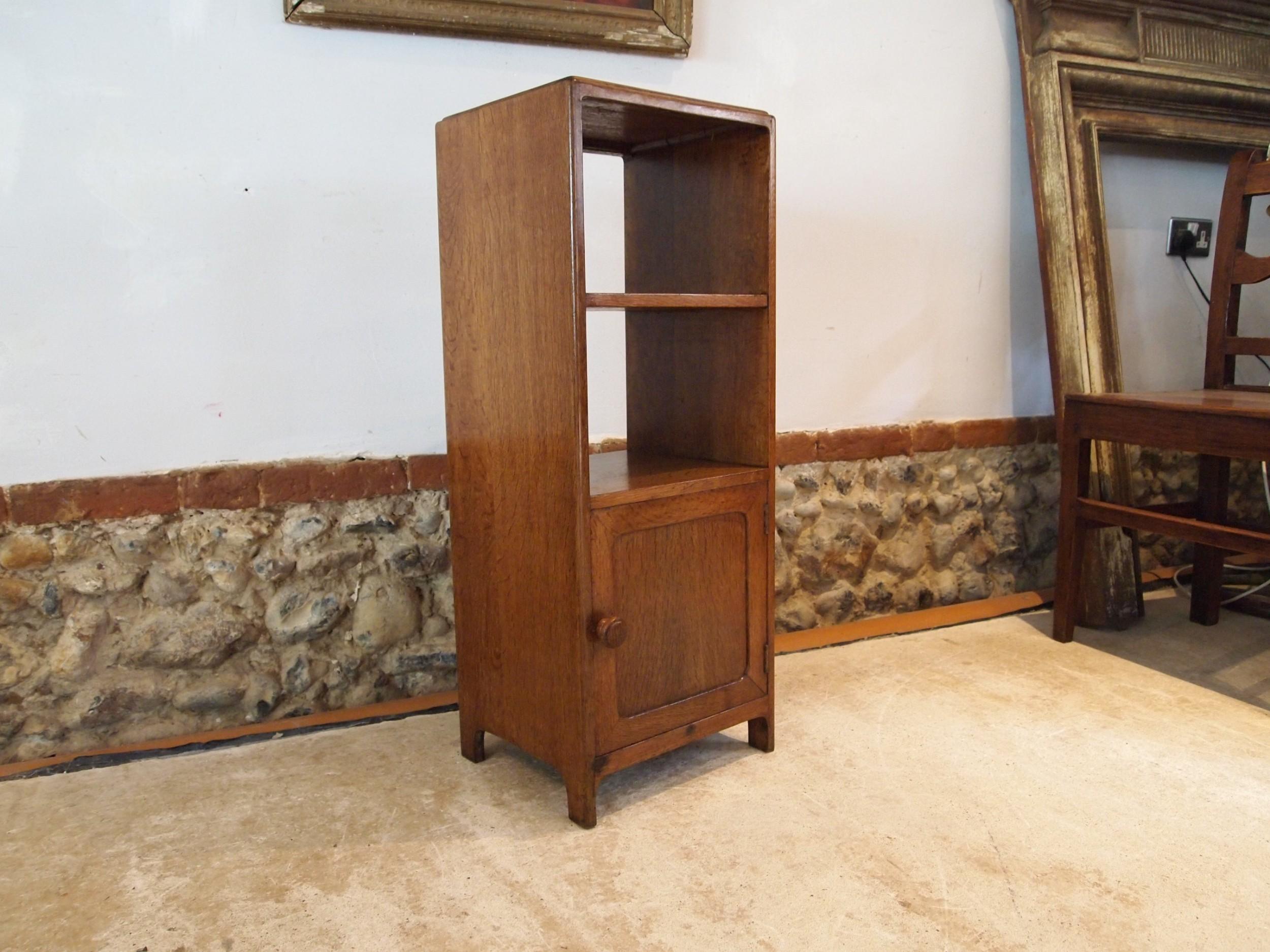 cabinet cupboard bedside oak manner of heals c1930