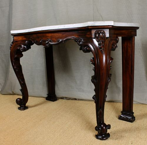 Ordinaire Regency Marble Top Console Table